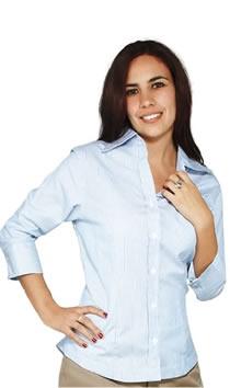 Blusas Para Trabajo Ejecutivo Blusas Sin Button Down Blusas En Tela